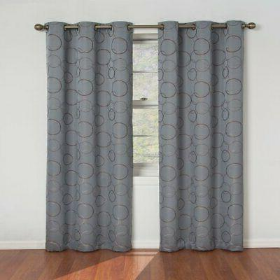 Eclipse Thermal Insulated Blackout Curtains Curtain Drapes