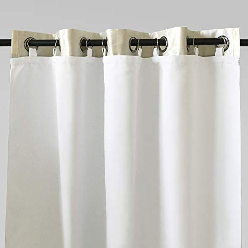 DriftAway Thermal Insulated Darkening, Liner for 96-inch Set Liner Size Included, White Panel