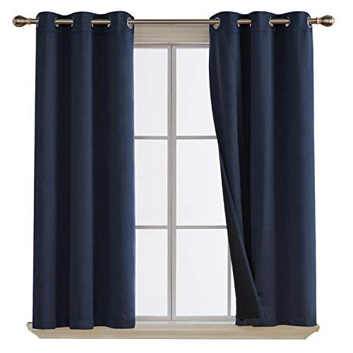 total blackout curtains thermal insulated
