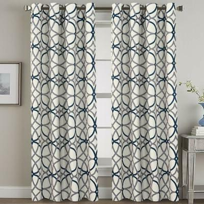 Blackout Curtain Thermal Window Drape Room,One