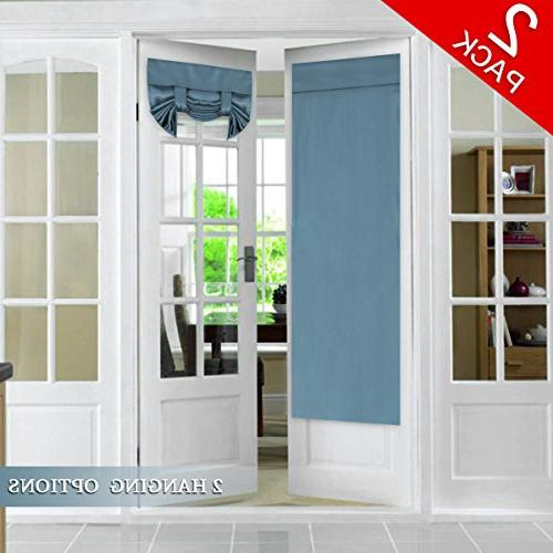 tricia window door curtains blackout