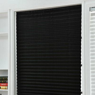 Temporary Shade Pleated Blinds Bathroom