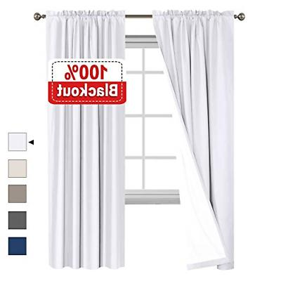 waterproof 100 percent blackout curtains for bedroom