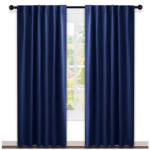 bedrtoom curtains blackout drapery panels