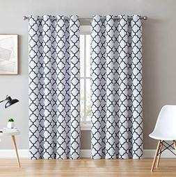 HLC.ME Lattice Print Thermal Insulated Blackout Room Darkeni