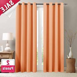 Light Reducing Curtain Panels for Bedroom 84 in Length Moder