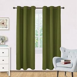 NICETOWN Living Room Blackout Window Curtains Thermal Insula