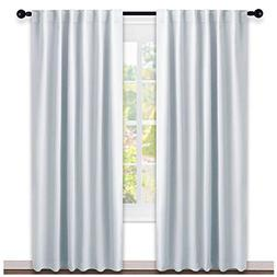 NICETOWN Living Room Darkening Curtain Panels -  W52 x L95,