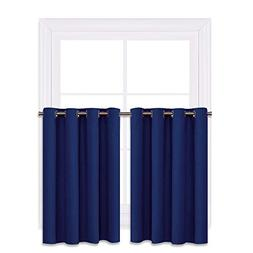 NICETOWN Living Room Window Drapes - Pair of Thermal Insulat