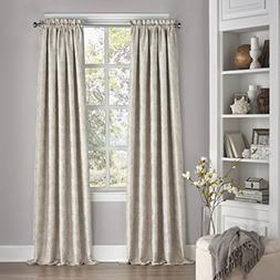 Mallory Thermalayer Blackout Curtain Ivory  Eclipse™