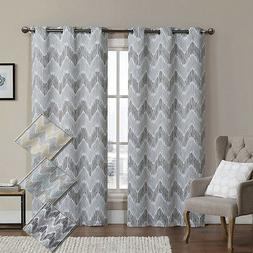 Marlie Woven Jacquard Insulated Blackout Casual and Contempo