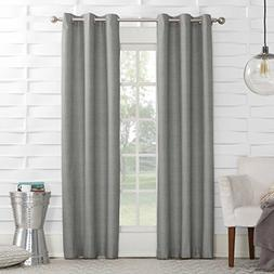 *Sun Zero Mirage Thermal Lined Grommet-Top Curtain Window Pa