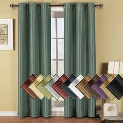 Modern Soho Blackout Curtain Panel with Grommet fixtures