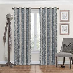 Eclipse Nadya Grommet Blackout Window Curtain Panel, 84Inch,
