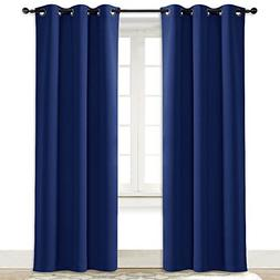 NICETOWN Living Room Curtain Window Treatment Energy Saving