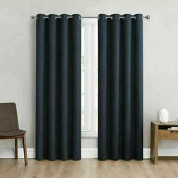 """NEW Eclipse Absolute Zero 95"""" Blackout Curtains 2-pack Kimba"""