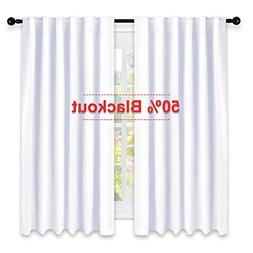 NICETOWM Window Treatment Curtain Panels,  W52 x L63, Two Pi
