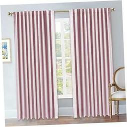 NICETOWN Blackout Curtain Panels for Girls Room - (Baby Pink
