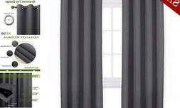 "NICETOWN Blackout Curtains Panels for Bedroom - 3 Pass 52""W"