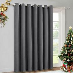 NICETOWN Patio Sliding Door Curtain - Wide Blackout Curtains