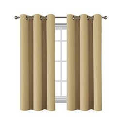 Flamingo P Noise Reducing Window Curtain 63 Inch Thermal Ins