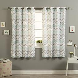 Best Home Fashion Nordic Wave Curtains - Stainless Steel Nic