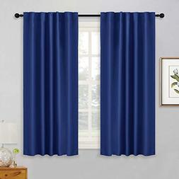 RYB HOME Window Curtains 54 inch Length, Nursery Room Decor