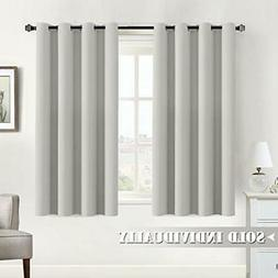 Flamingo P Off White Blackout Curtain for Bedroom 63 inches