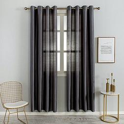 Grace Duet Sheer Curtains Airy Gauzy Window Treatments Panel