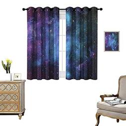 homehot Outer Space Thermal Insulating Blackout Curtain Gala