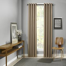 "Eclipse Palisade Blackout Grommet Window Curtain, 52"" x 108"""