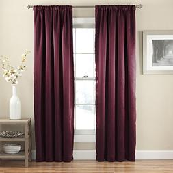 "Eclipse Curtain Panel 52"" X 84"" Tricia Light Noise Block San"