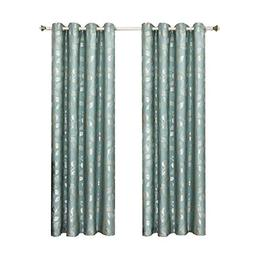 "Royal Tradition Set of 2 Panels 104"" Wx96 L Charlotte - Blue"