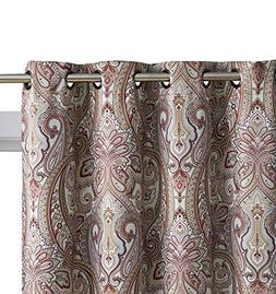 HLC.ME Paris Paisley Damask Room Darkening Thermal Blackout