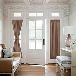 NICETOWN Patio Door Blackout Window Curtains - Total Privacy