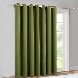 NICETOWN 95 Inches Patio Door Curtains - Thermal Drapes Slid