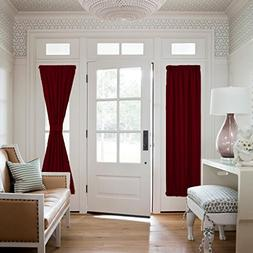 NICETOWN Blackout Draperies Curtains for Doors - Functional