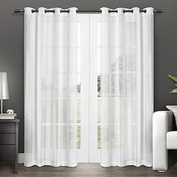 Exclusive Home Curtains Penny Sheer Grommet Top Window Curta