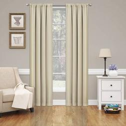 "Eclipse Phoenix Blackout Window Curtain Panel Pair, 74"" x 84"