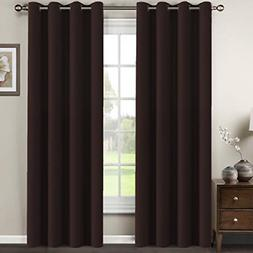 Premium Blackout Curtains for Living Room 84 Inches Length,