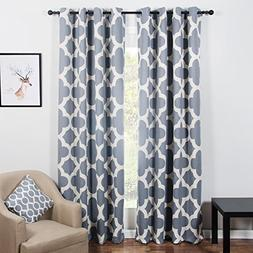 Top Finel 85% Blackout Curtains for Bedroom Thermal Insulate
