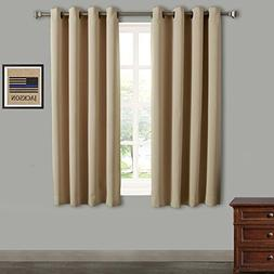 Rose Home Fashion RHF Blackout Thermal Insulated Curtain - A