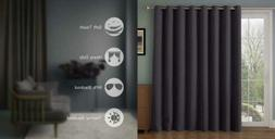 Rose Home Fashion RHF Wide Thermal Blackout Patio Door Curta