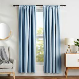"AmazonBasics Room-Darkening Blackout Curtain Set - 52"" x 84"""