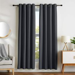 Room - Darkening Blackout Curtain Set With Grommets - 245 GS