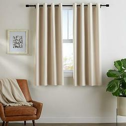 room darkening blackout window curtains with grommets