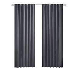 Deconovo Blackout Curtain Panels Window Draperies Rod Pocket