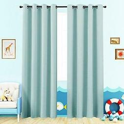 Room Darkening Curtain 95 inches Long for Living Room Modera