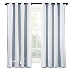 NICETOWN Room Darkening Curtain for Bedroom -  Solid Thermal