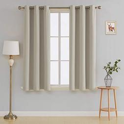 Deconovo Room Darkening Drapes Thermal Insulated Curtains Gr